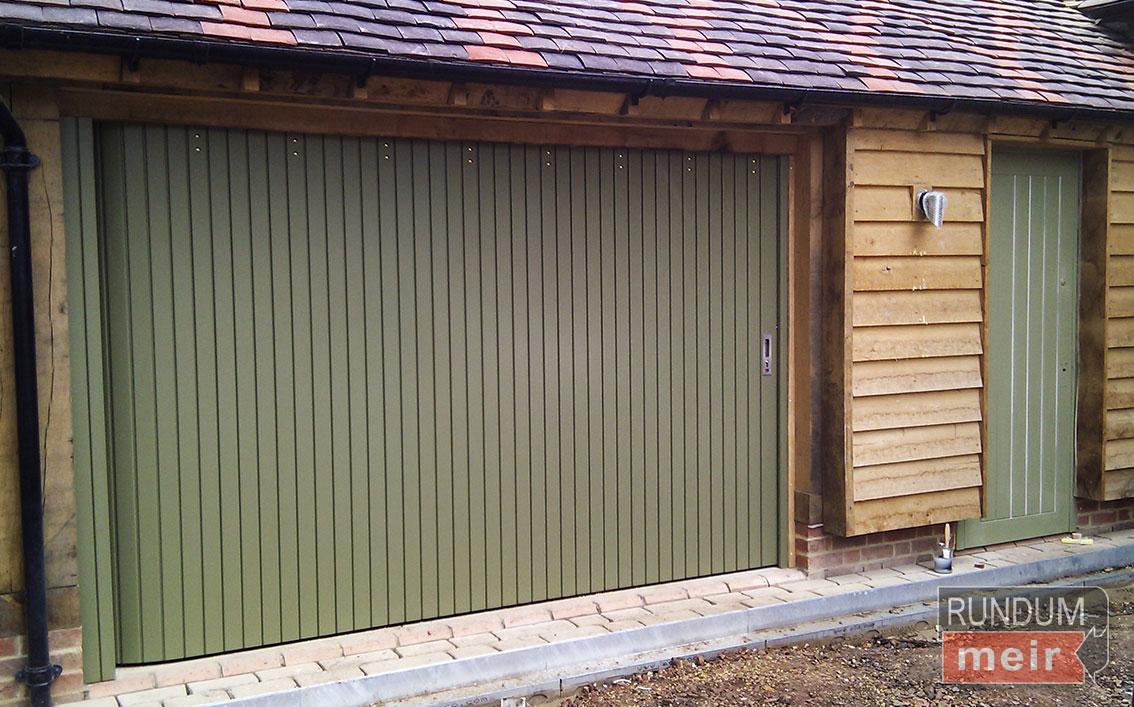 Rundum Meir Sliding Timber Garage Doors