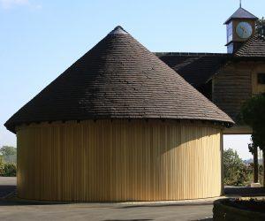 Round-house garage, Surrey